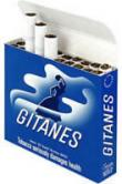 6 cartons Gitanes Brunes Non Filter